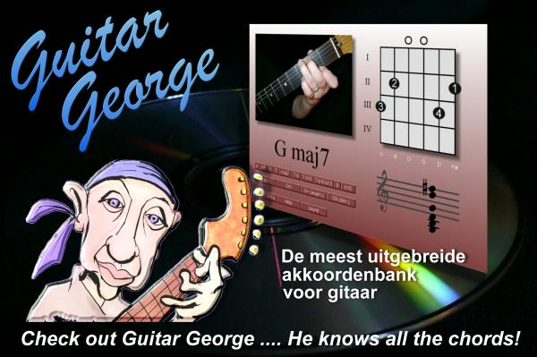Guitar George Chord Reference Knows All Chords